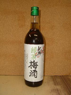 緑茶梅酒  ■価格 ◇1030円:720ml